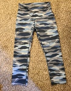 Lululemon camouflage leggings
